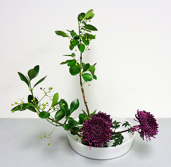 Flower Arrangements Basics: Ikebana Class